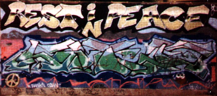 80's Other, Graffiti - 1989