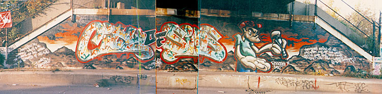 B-Boy-B, Graffiti - 1992