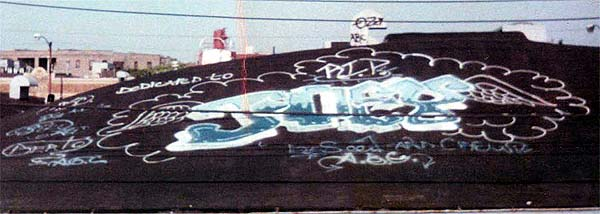 B-Boy-B, Graffiti - 1984