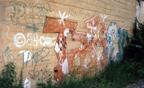 Take 2, Graffiti - 1984